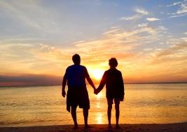 Delenoir Wiggins State Park sunset