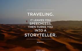 TRavel story teller