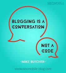 Blogging code