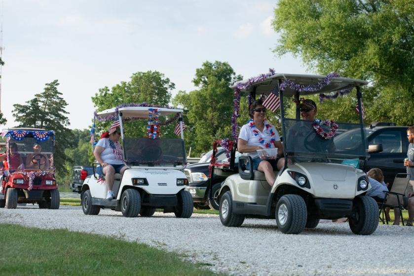 4th of July Golf Cart Parade